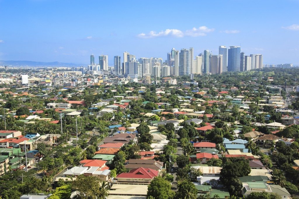 Residential areas in the Philippines