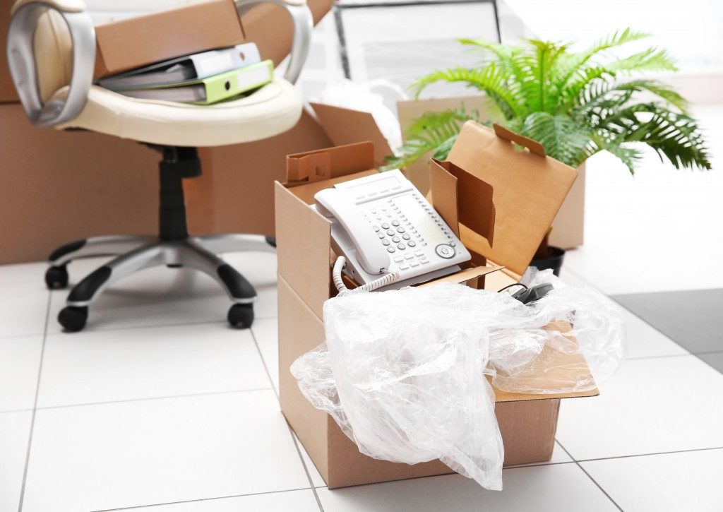 moving out of the office