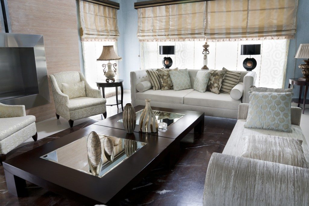 Sample of living room bungalow